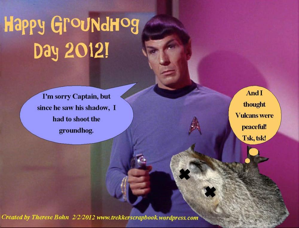 Happy Groundhog's Day! 2-2-12