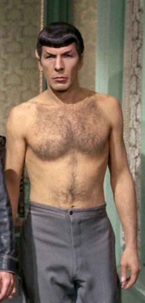 Leonard Nimoy Shirtless Trekkerscrapbook