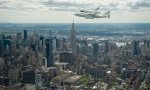 Enterprise Over Manhattan!