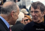 Chuck Schumer and Mr. Nimoy