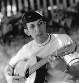 My Weekly Spock 10/22/12-- Guitar Man!  (1/6)