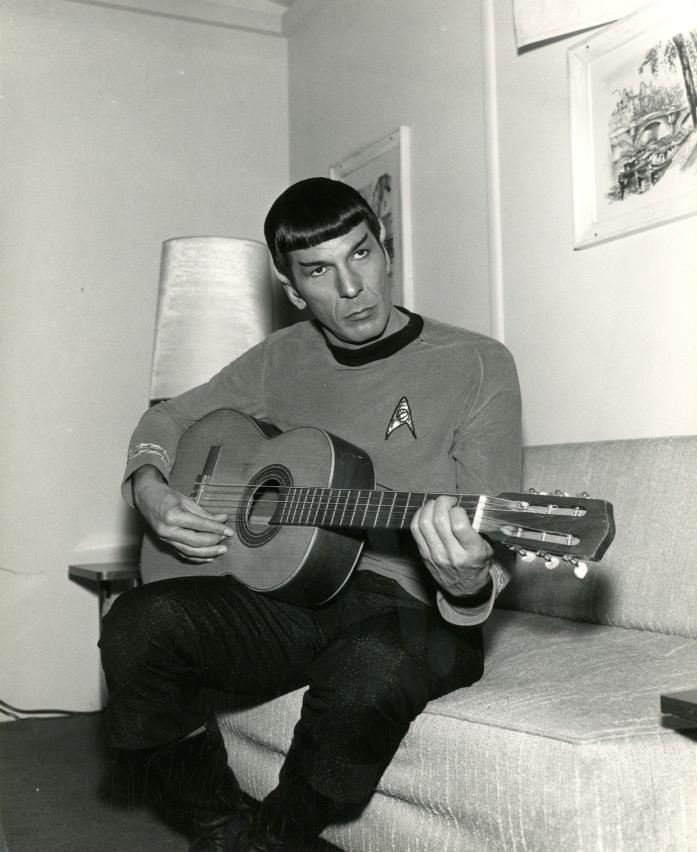 My Weekly Spock 10/22/12-- Guitar Man!  (6/6)