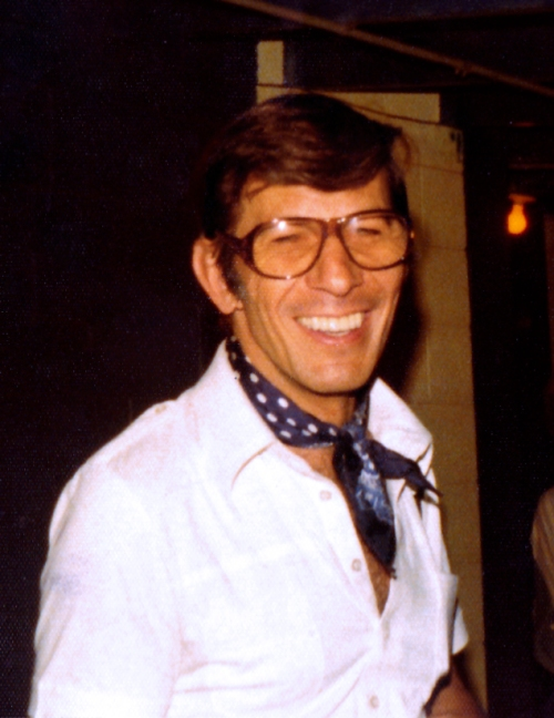 Nimoy in 1976 by Joanne Brooks copy