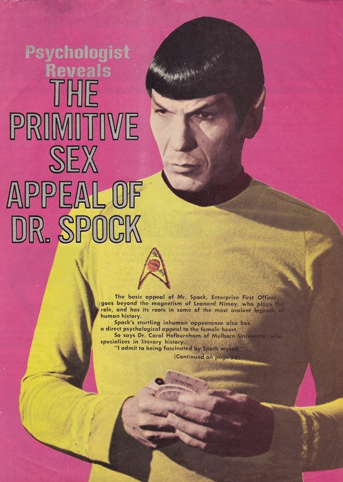 My Weekly Spock 2/18/12  The Primitive Sex Appeal of DR. Spock--Corrected!  (2/3)