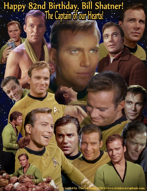 Bill Shatner 82 B-Day 2013