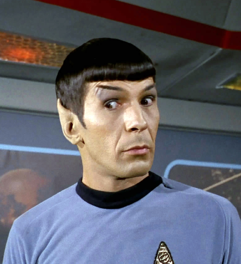 My Weekly Spock 3/4/13 That Eyebrow! | TrekkerScrapbook