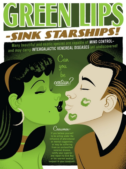 green lips by travis