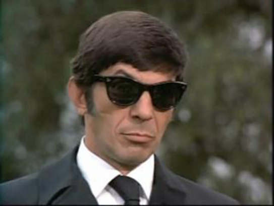 Still can't hide it behind shades from Night Gallery (She'll be company for you)