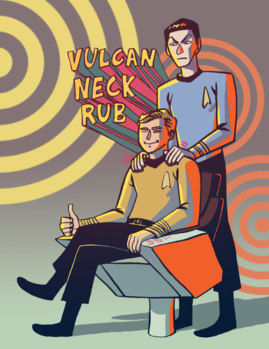 Vulcan Neck Rub by