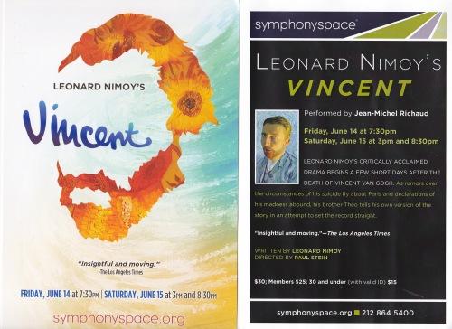 Vincent fliers