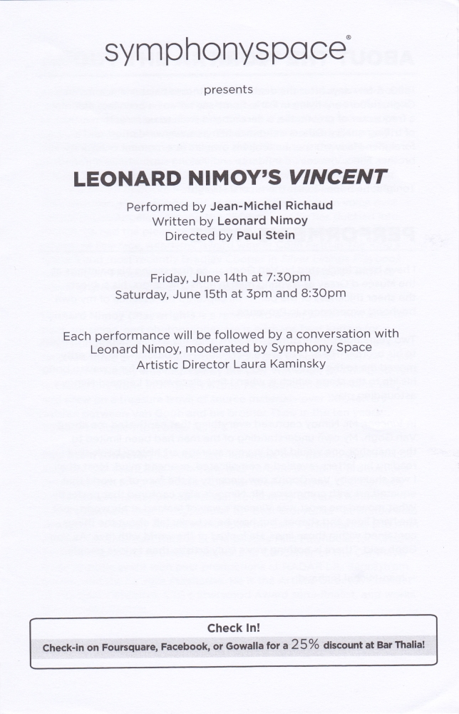 Seeing Leonard Nimoy in Person (Again!) Only 300 miles and 36 years Later- (VIDEO, PHOTOS) (6/6)