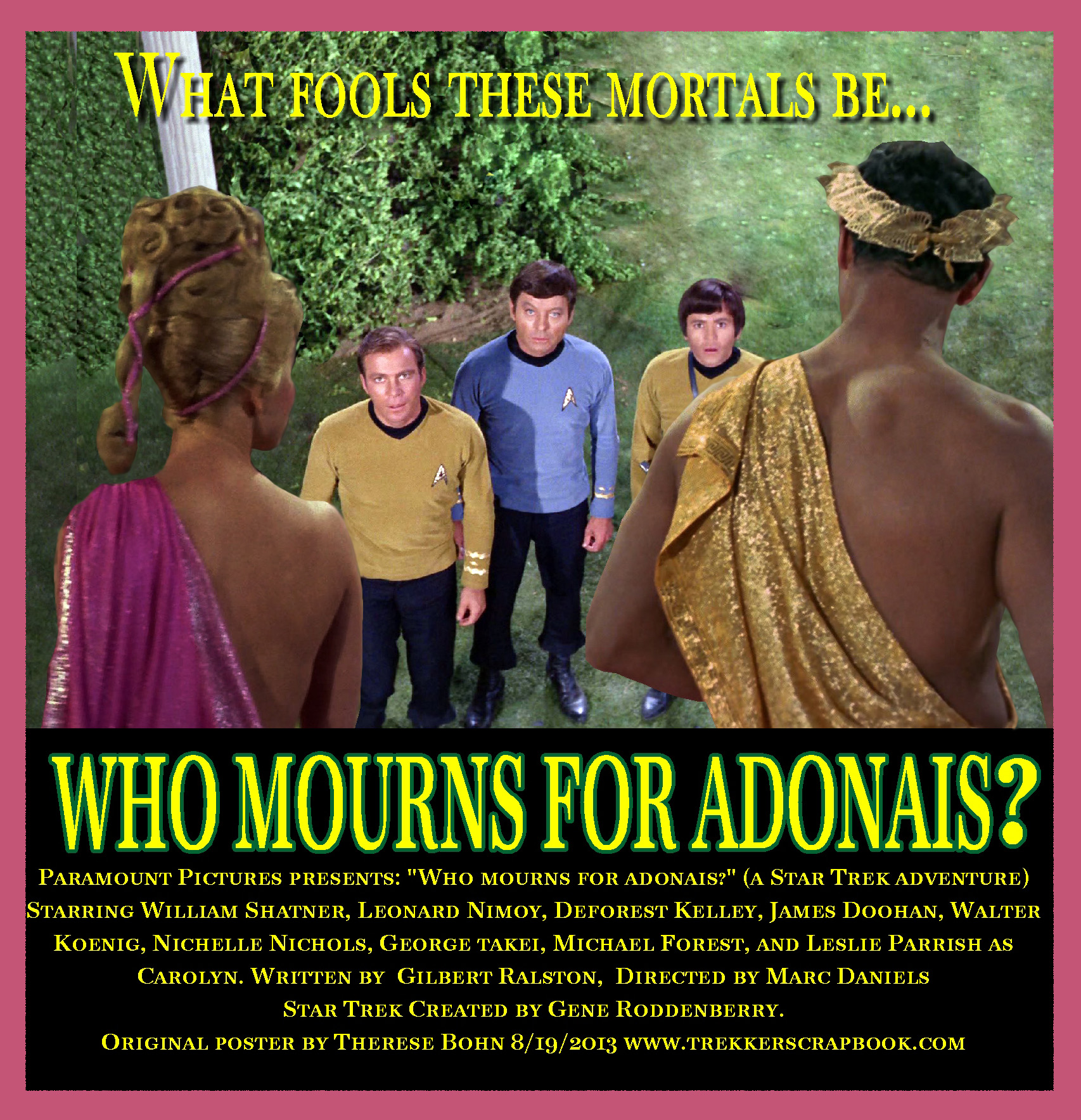 33 - Who Mourns For Adonais