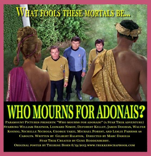 33 - Who Mourns For Adonais