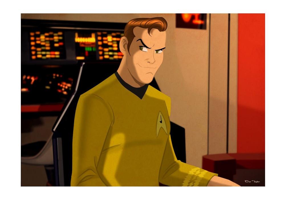 FArFri  - Star Trek Pop Art by Des Taylor (1/4)