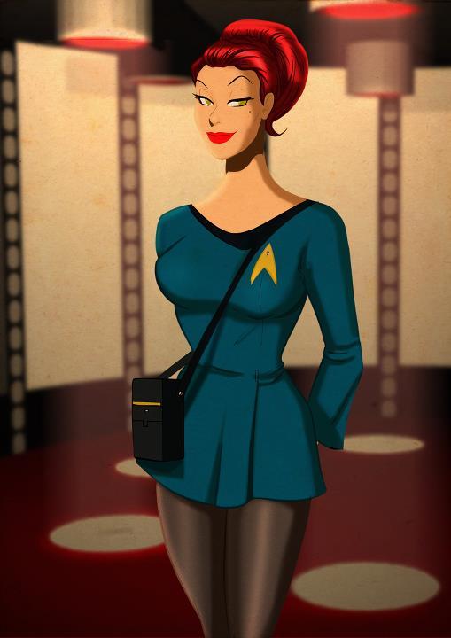 FArFri  - Star Trek Pop Art by Des Taylor (3/4)