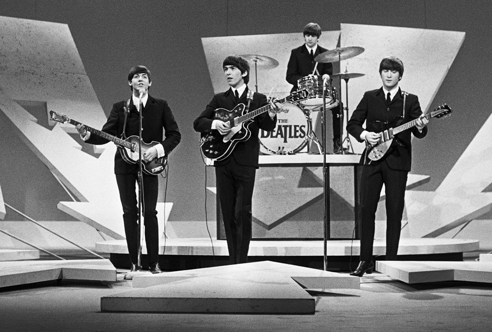 50 Years Ago Today�The Beatles on Ed Sullivan February 9, 1964 ...