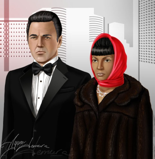 Disguise___Scotty_and_Uhura_by_ayumi_lemura