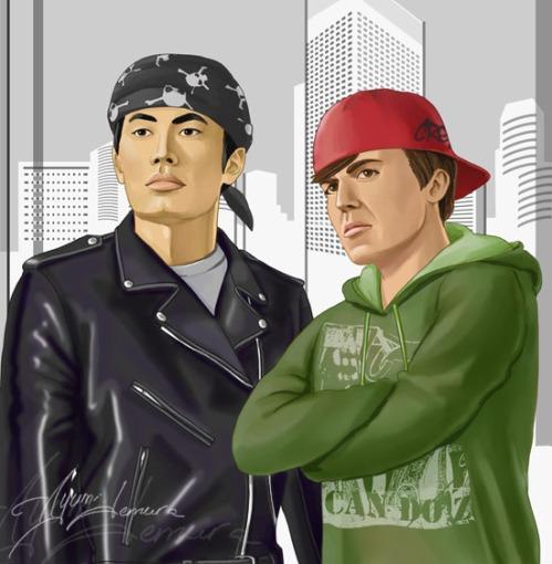 Disguise___Sulu_and_Chekov_by_ayumi_lemura