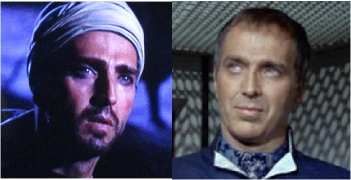 John Crawford as Alexander and Commissioner Ferris.
