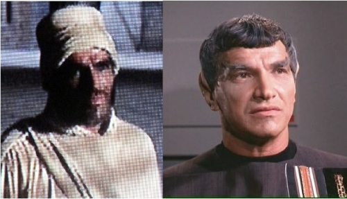 Mark Lenard as Balthazaar and Sarek.