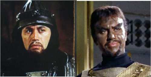 Michael Ansara as Centurion and Kang.