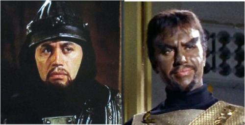 Michael Ansara as Centurion and Kang.
