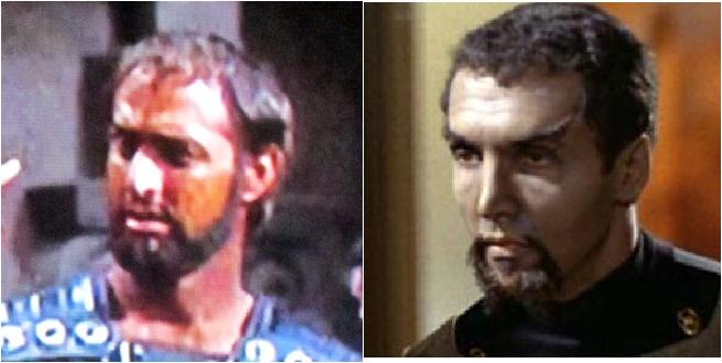 Victor Ludin as Centurion and Klingon Lieutenant.
