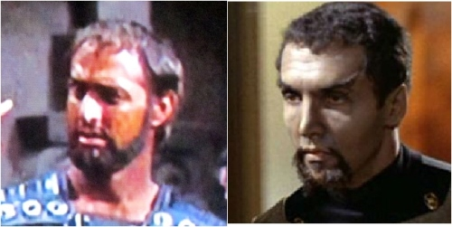 Victor Ludin as Centurion and Klingon Lieutenant.