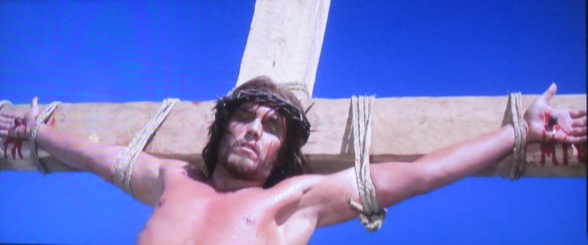Image result for jeff hunter crucifixion in king of kings shaven chest
