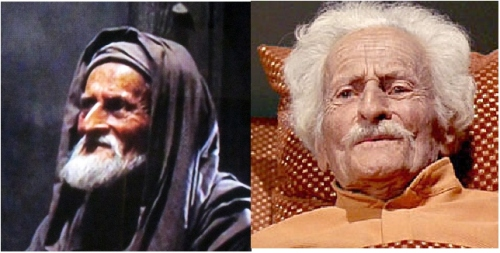 Felix Locher as Old Man and Dr. Robert Johnson