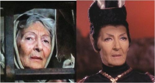 Celia Lovsky as Woman at Gate and T'Pau.
