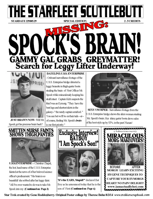 61- Spock's Brain