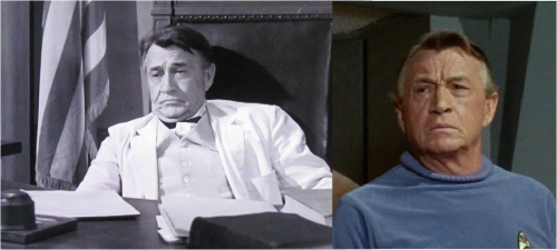 Paul Fix as the Judge and as Dr. Piper.