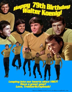 Birthday Walter Koenig 79