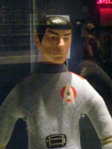 A squeezable soft Spock Doll from ST:TMP