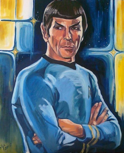 Spock by Silja Siirilä