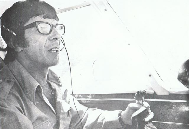 plane with glasses