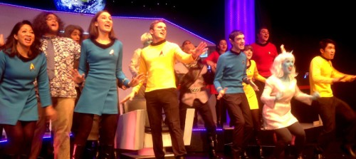To boldly go cast