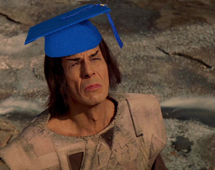 graduate Spock
