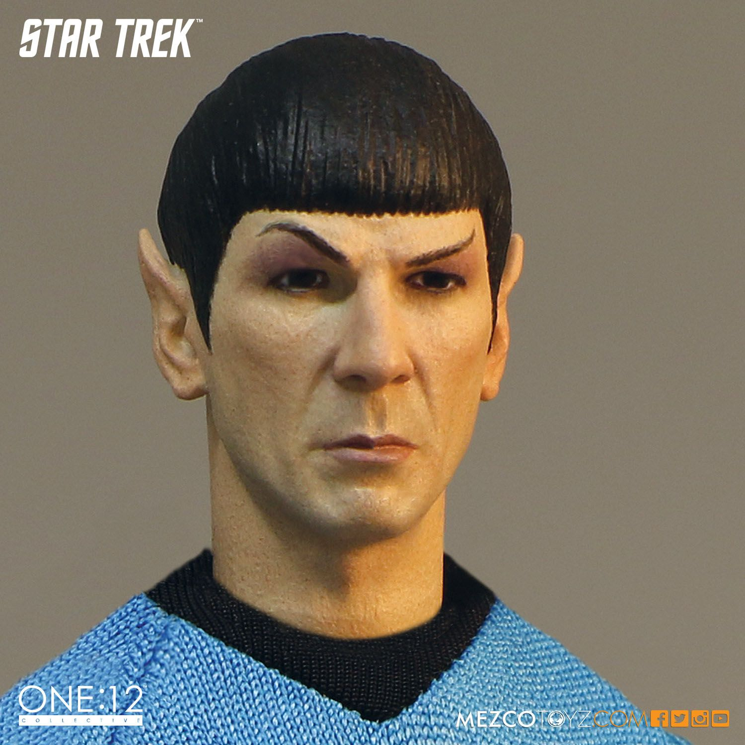 Mezco One 12 Collective Star Trek Spock action figure 6
