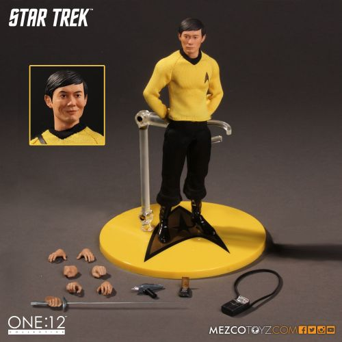 Mezco One 12 Collective Star Trek Sulu action figure