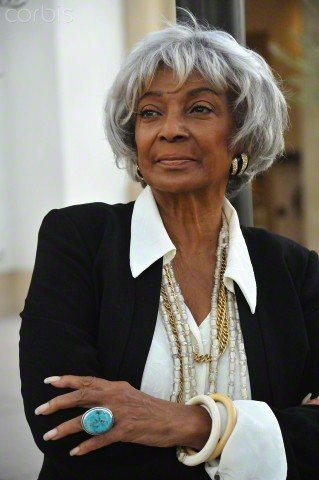 18 Sep 2010, Calabasas, California, USA --- Actress Nichelle Nichols photographed outdoors in Calabasas. --- Image by © Frank Trapper/Corbis