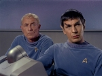 Oh sure, the cute young Vulcan gets to be in every single episode while I vanish after this!